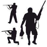 Mann mit einer Gewehr Vektor Abbildung