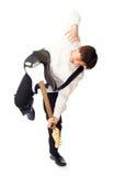 Mann mit Gitarre Lizenzfreies Stockfoto