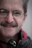 Mann mit Gläsern Lizenzfreies Stockbild