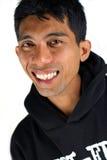 Mann mit großem Lächeln Stockfoto