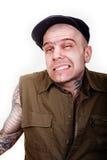 Mann mit Tätowierungen Lizenzfreies Stockfoto