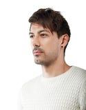 Mann mit verächtlichem flüchtigem Blick Lizenzfreie Stockfotografie