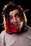 Mann mit Zahnschmerzen stockbilder
