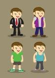 Mann-Mode-Vektor-Illustration Lizenzfreie Stockbilder