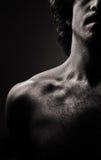 Mann nude-4 lizenzfreies stockbild