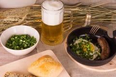 Mann ` s Abendessen Lizenzfreies Stockfoto