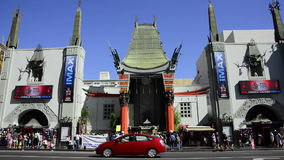 Mann's Chinese Theater stock footage