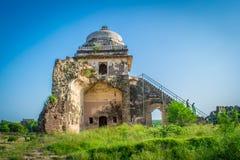 Mann Singh Haveli in Rohtas-Fort Stockbild