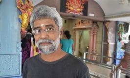 Mann in Thaipusam - Inder Holyday Stockfotografie