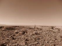 Mann und Arizona Stockfoto
