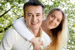 Mann und Frau Lizenzfreies Stockbild