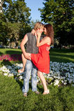 Mann und Frau stockfoto