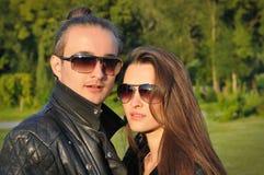 Mann und Frau Stockfotografie