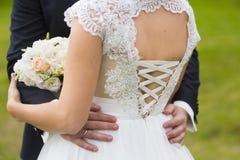 Mann und Frau - Braut und Bräutigam Stockbilder