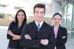 Mann-und Frauen-Geschäfts-Team Lizenzfreie Stockfotografie