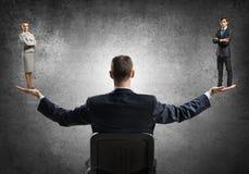Mann- und Frauengleichheit Lizenzfreies Stockbild