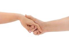 Mann- und Frauenhände Lizenzfreies Stockbild
