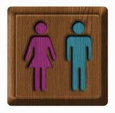 Mann- und Frauentag Lizenzfreies Stockfoto