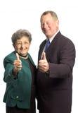 Mann- und Frauenteam Lizenzfreie Stockfotos