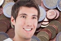 Mann und Geld Lizenzfreie Stockbilder