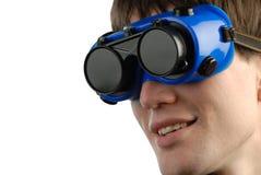 Mann und Gläser Lizenzfreie Stockbilder