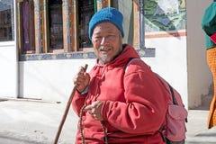Mann von Bhutan, Bhutan Lizenzfreies Stockbild
