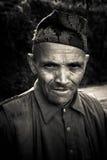 Mann von Sindhupalchowk, Nepal stockfoto