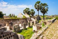 Mannar堡垒,斯里兰卡 库存照片