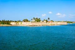 Mannar堡垒,斯里兰卡 库存图片
