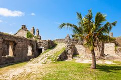 Mannar Fort, Sri Lanka. Mannar Fort is located on Mannar Island, Sri Lanka. Fort built by Portuguese, then fell to the Dutch and the British Royalty Free Stock Image