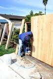 Mannaufbauen Stockbilder