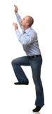 Mannaufstieg Lizenzfreie Stockbilder