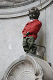 Manneken Pis Stock Photo