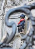 Manneken Pis awarded costume Royalty Free Stock Photos