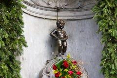 Manneken Pis Bruselas Foto de archivo libre de regalías