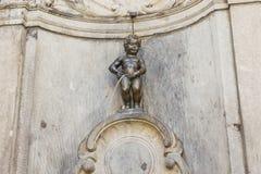 Manneken Pis in Brussels, Belgium Royalty Free Stock Photography
