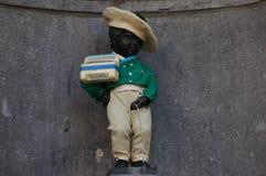 Manneken Pis a Bruxelles Fotografia Stock Libera da Diritti