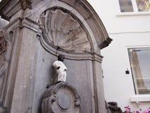 Manneken Pis i Bryssel Royaltyfri Foto