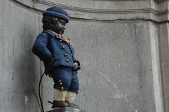 Manneken Pis In Brussels Royalty Free Stock Image
