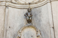 Manneken Pis In Brussels, Belgium Royalty Free Stock Photography