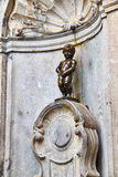 Manneken Pis statue in Brussels royalty free stock photography