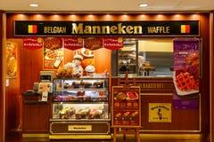 Manneken Waffles Stock Images