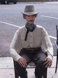 Mannekin in Scottsdale  in Arizona on the outskirts of Phoenix Stock Photos