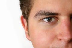 Mannelijk gezicht Royalty-vrije Stock Foto's