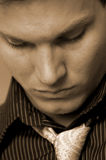 Mannelijk gezicht royalty-vrije stock afbeeldingen