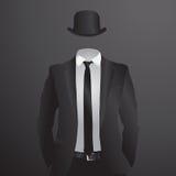 Mannelijk kostuum Vector illustratie Royalty-vrije Stock Foto's