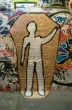 Mannelijk lichaam Stock Foto
