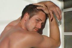 Mannelijk model Stock Afbeelding