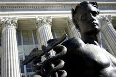 Mannelijk standbeeld royalty-vrije stock foto's