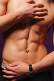 Mannelijk torso Stock Afbeeldingen